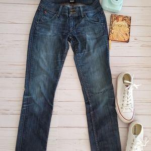 Hudson Collin Ankle Skinny Jeans Size 24